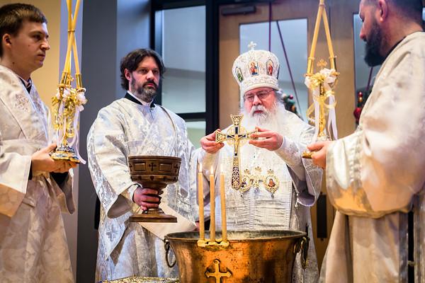 Feast of Theophany with His Beatitude, Metropolitan Tikhon