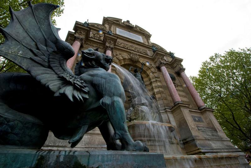 St Micheal's Fountain