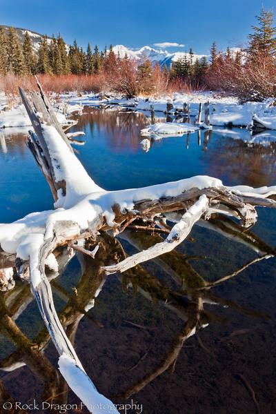 Vermillion Lakes in Banff National Park.