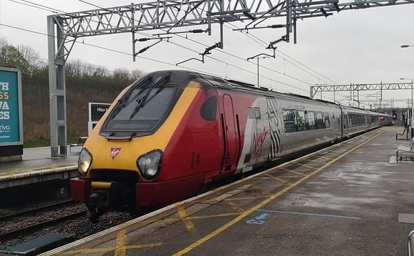 UK Rail April 2019