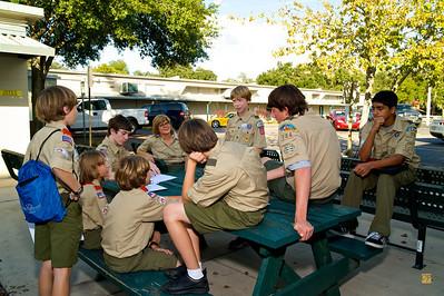 Troop Meeting, December 13, 2009