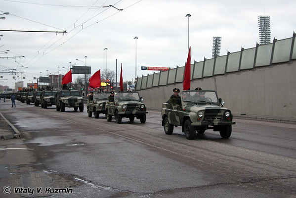 28th and 30th April rehearsals of Victory Day parade in Moscow