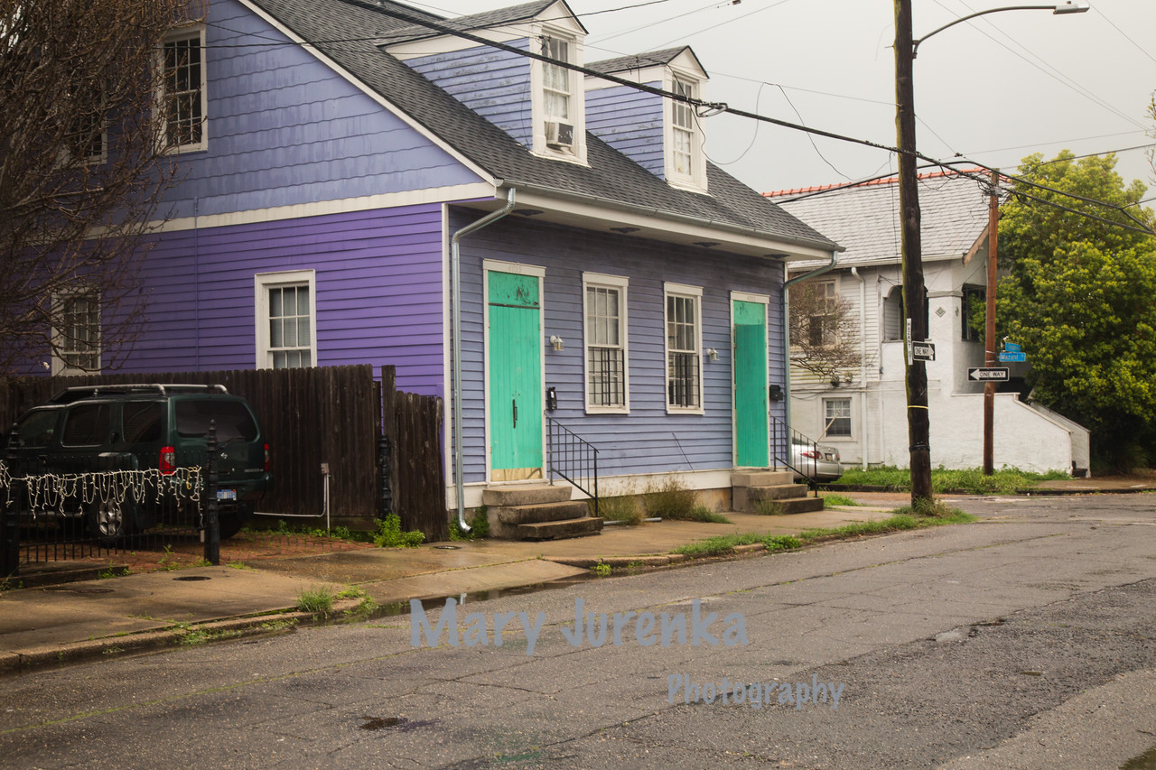 Bywaters Neighborhood of New Orleans
