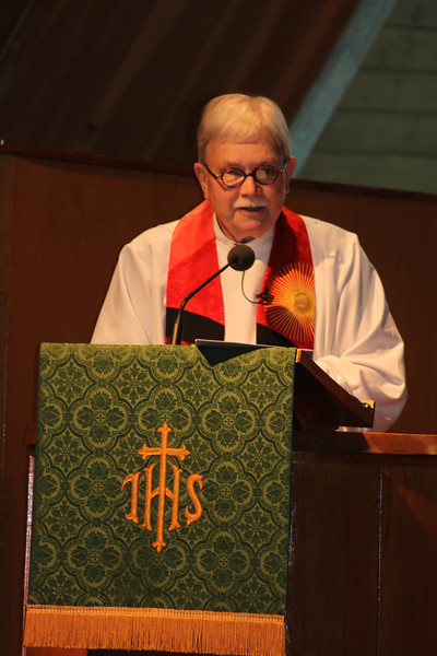 Last Service for Rev David Grant, Trinity UCC, Tamaqua (7-31-2011)