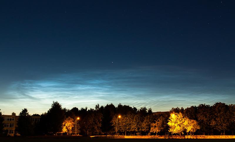 Noctilucent Clouds, July 2nd