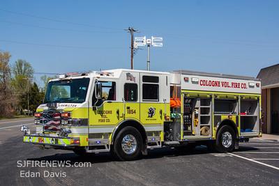Cologne Fire Co. (Atlantic County NJ) New Engine 18-54