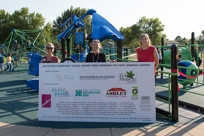 Southview Barrier Free Playground Ribbon Cutting