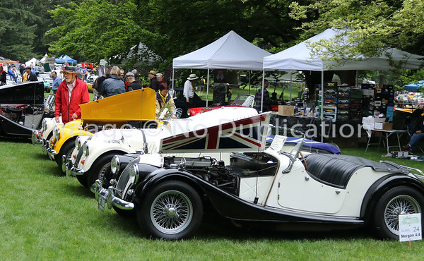 2018 All British Field Meet (VanDusen Gardens)