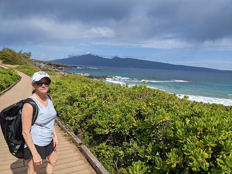Overlooking Oneola Beach.