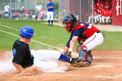Karns vs Halls HS Baseball District