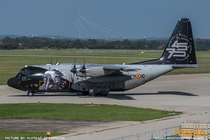 BAF 20 Squadron / Lockheed C-130H Hercules / CH-10 / 45th & 75th Anniversary Livery