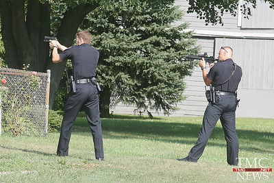 WEST RIVER RD MAN SHOT BY POLICE AFTER POINTING GUN AT THEM