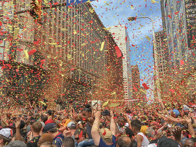Cavs Parade in Cleveland