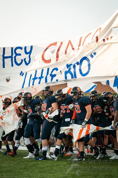 Seven Lakes High School - Football (M) - Varsity - Spartans Team VS Cinco High School