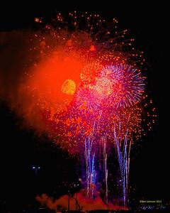 Philadelphia Fireworks New Year 2012