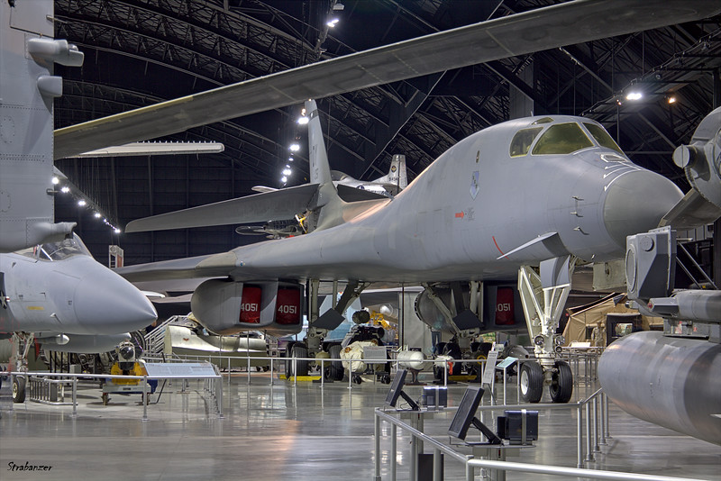 National Museum of the United States Air Force, Dayton, Ohio,   04/13/2019   Rockwell B-1B Lancer c/n 11   84-0051  This work is licensed under a Creative Commons Attribution- NonCommercial 4.0 International License.