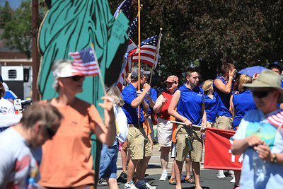 The Dooners in 4th of July parade