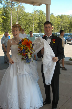 Wedding of Maggie Lederberg 07-27-2004
