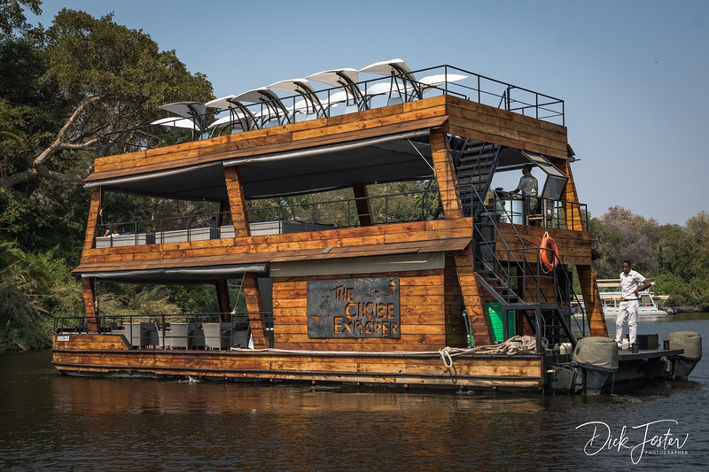 River Safari in Comfort with Restaurant on Lower Deck