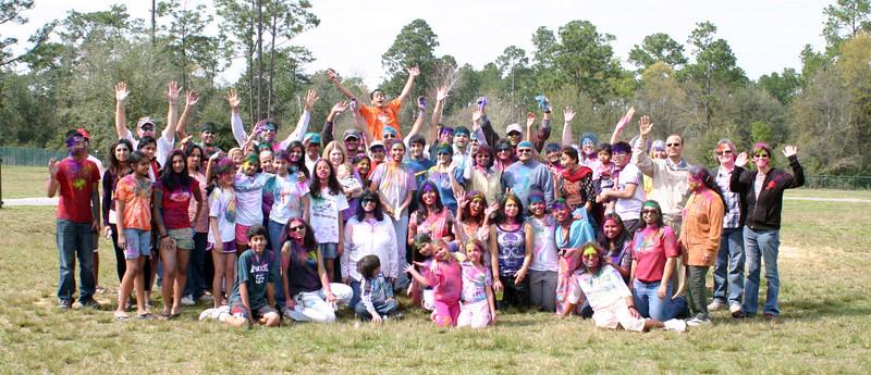 Holi 2012 India Association