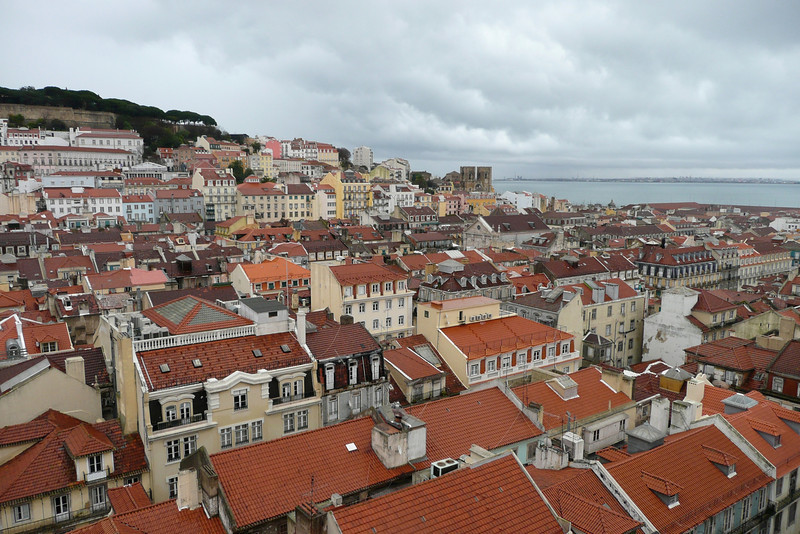 Baixa and Alfama. Lisbon