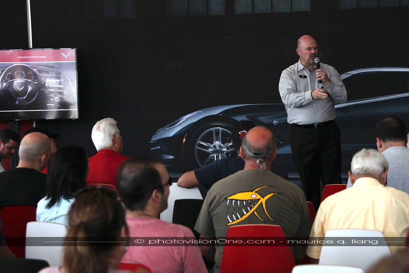 John gives an overview of the new Corvette.