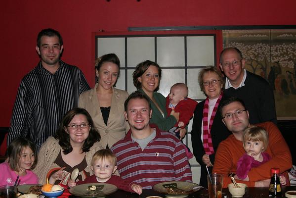 Lisa's 30th Birthday at Benihana's - December 12, 2007