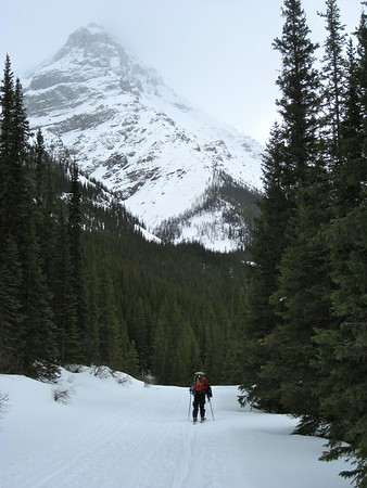 Lake O'Hara Backcountry Skiing - March 2011