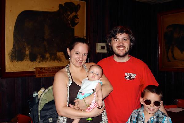 Texas Visit to Drew's Family