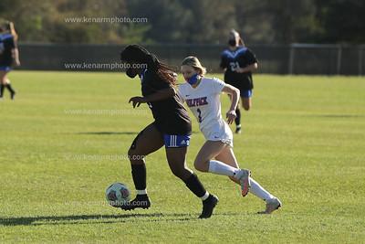 East Bladen 21 Whiteville girls soccer 3/29