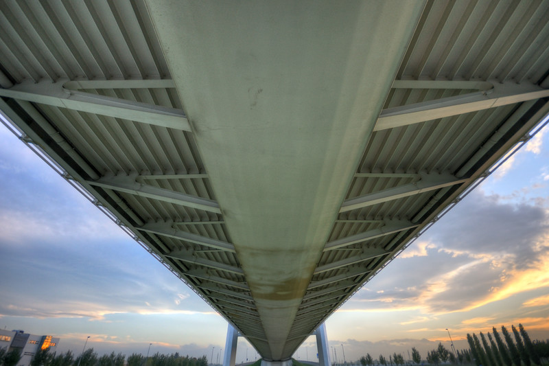 Vele di Calatrava (North Bridge) - Reggio Emilia, Italy - October 14, 2012