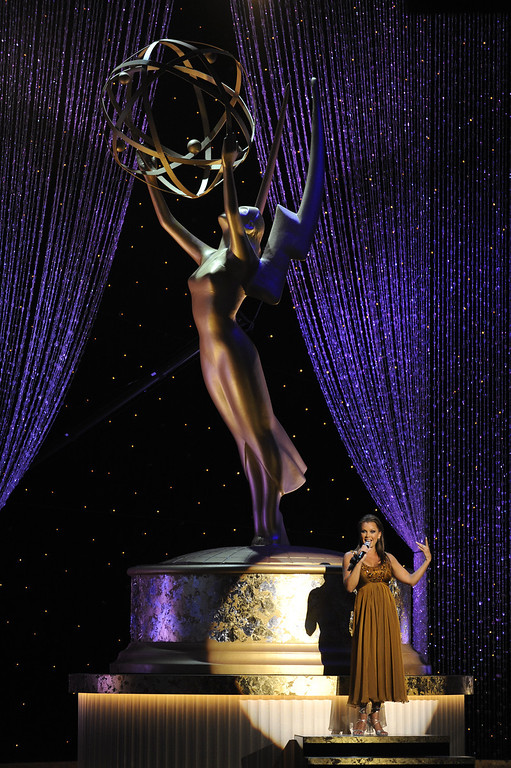 . Vanessa Williams performs at the Daytime Emmy Awards on Sunday Aug. 30, 2009,in Los Angeles. (AP Photo/Chris Pizzello)
