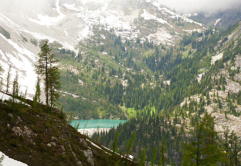 Lewis Lake, North Cascades NP, July 2010