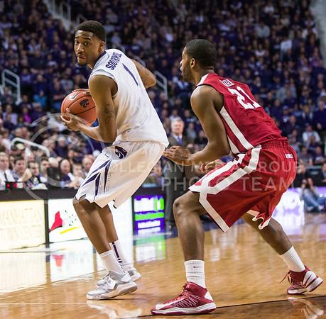 1.19.13 Basketball - vs Oklahoma