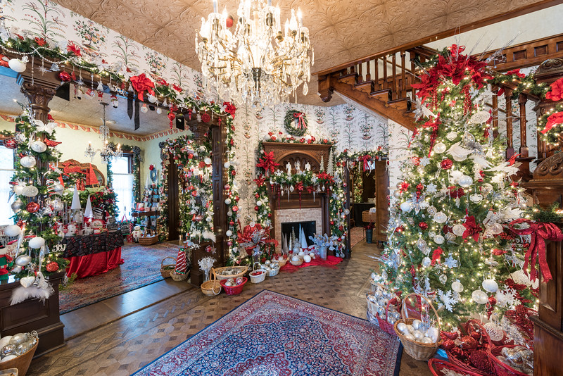 Christmas at the Caswell House, 2015