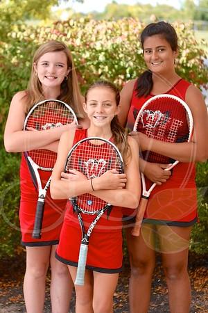 Ridge Girls Tennis - Fall 2015