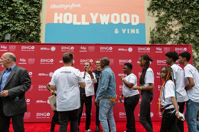 2019_07_07, Birthday, Brian Rothschild, CA, Capitol Records, Fernando Pullum, Los Angeles, Ringo, Ringo Starr
