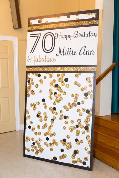 Millie Ann's 70th Birthday Celebration