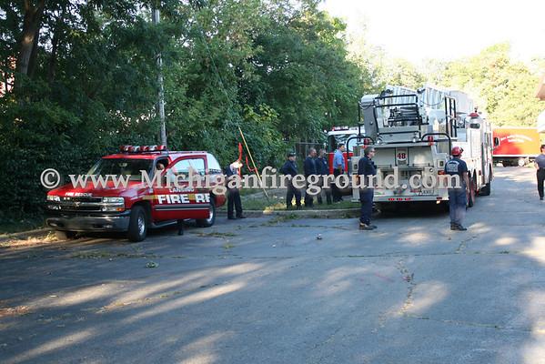 9/10/10 - Lansing tech rescue training, 112 E. Main