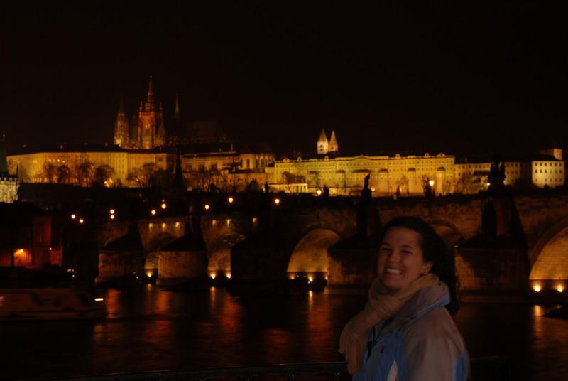 Anna near the Water at night in Prague 1.JPG