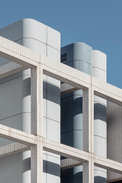Parking EFFIA building near Lyon-part-dieu trainstation