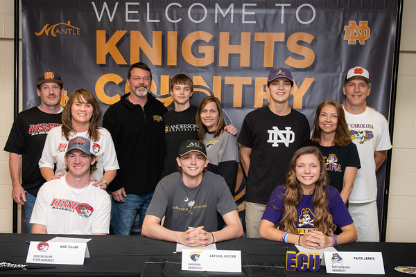 NLI Signing - North Davidson High School