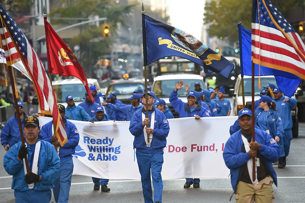The DOE Fund - 2014 Veteran Day Parade