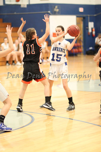 Lawrence Freshman Girls Vs. Brewer