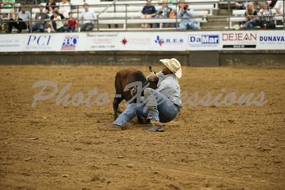 Steer Wrestling Monday 9-23