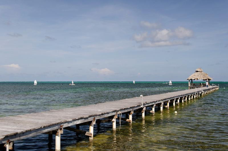 Xanadu Resort dock.