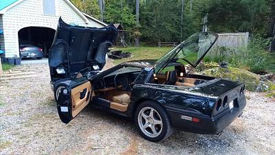1989 Chevy Corvette Front Door Speaker Installation
