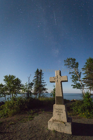 Perseid at the Cross