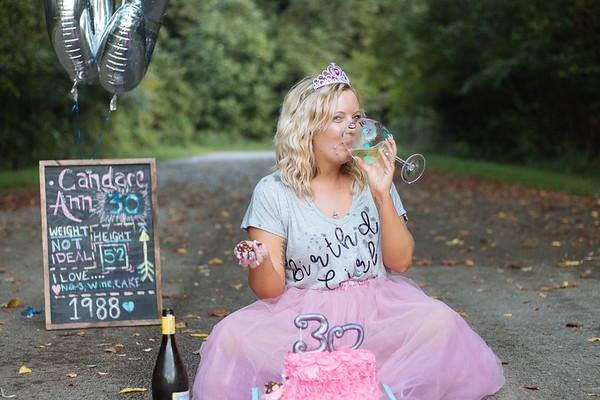 30th Birthday Cake Smash