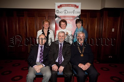 Colin Kavanagh from the Quays is pictured with Gerry McAnulty, Art Magennis, Eileen Mooney,Maureen Grant and Christine Farrelly. R1551008